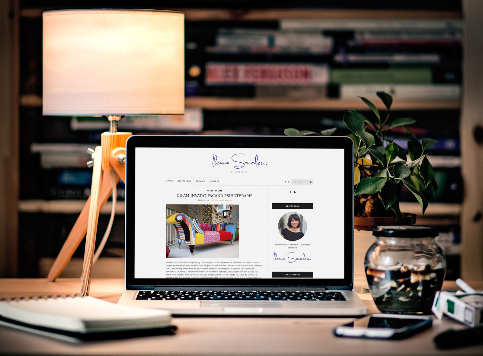 Creare site psiholog