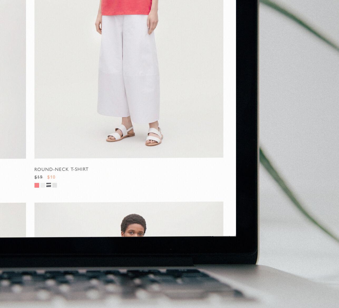 Website design red cover